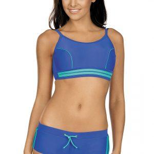 Dámské sportovní plavky Laura modré