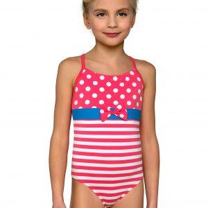 Plavky dívčí jednodílné Barborka