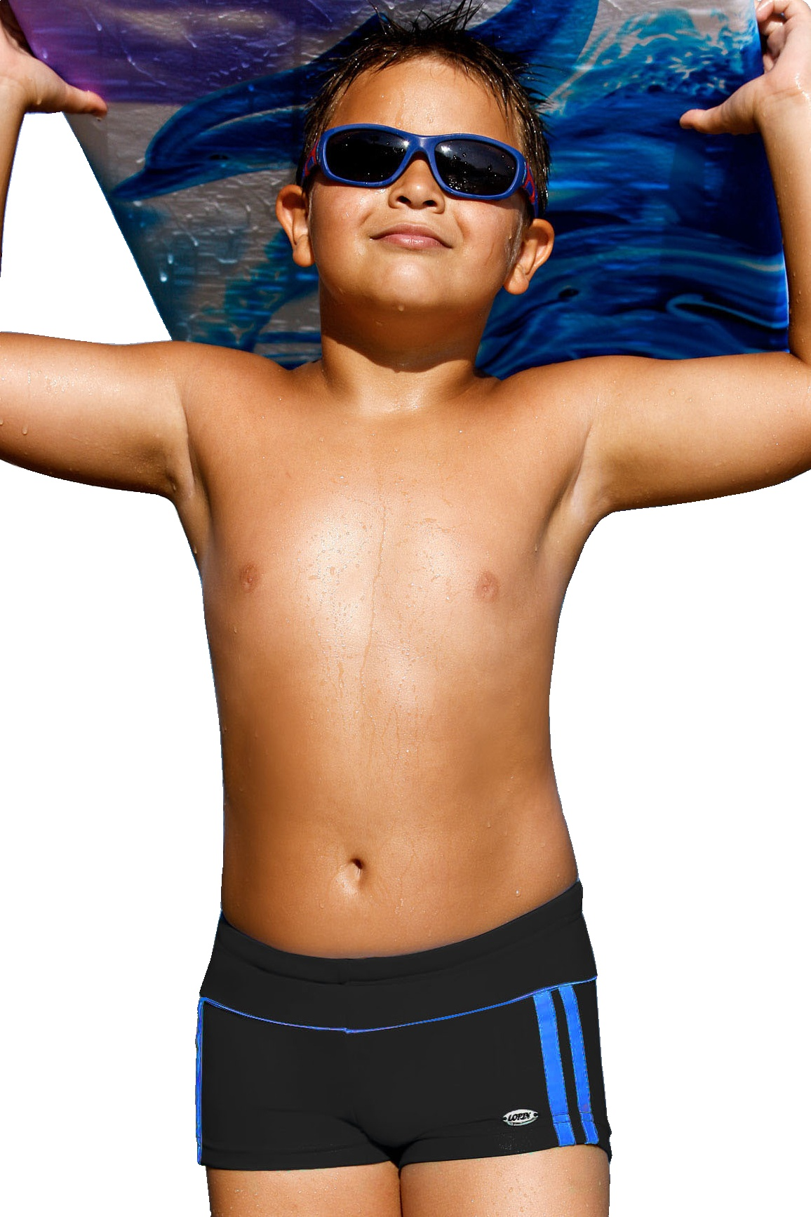 Plavky chlapecké Jirka černé