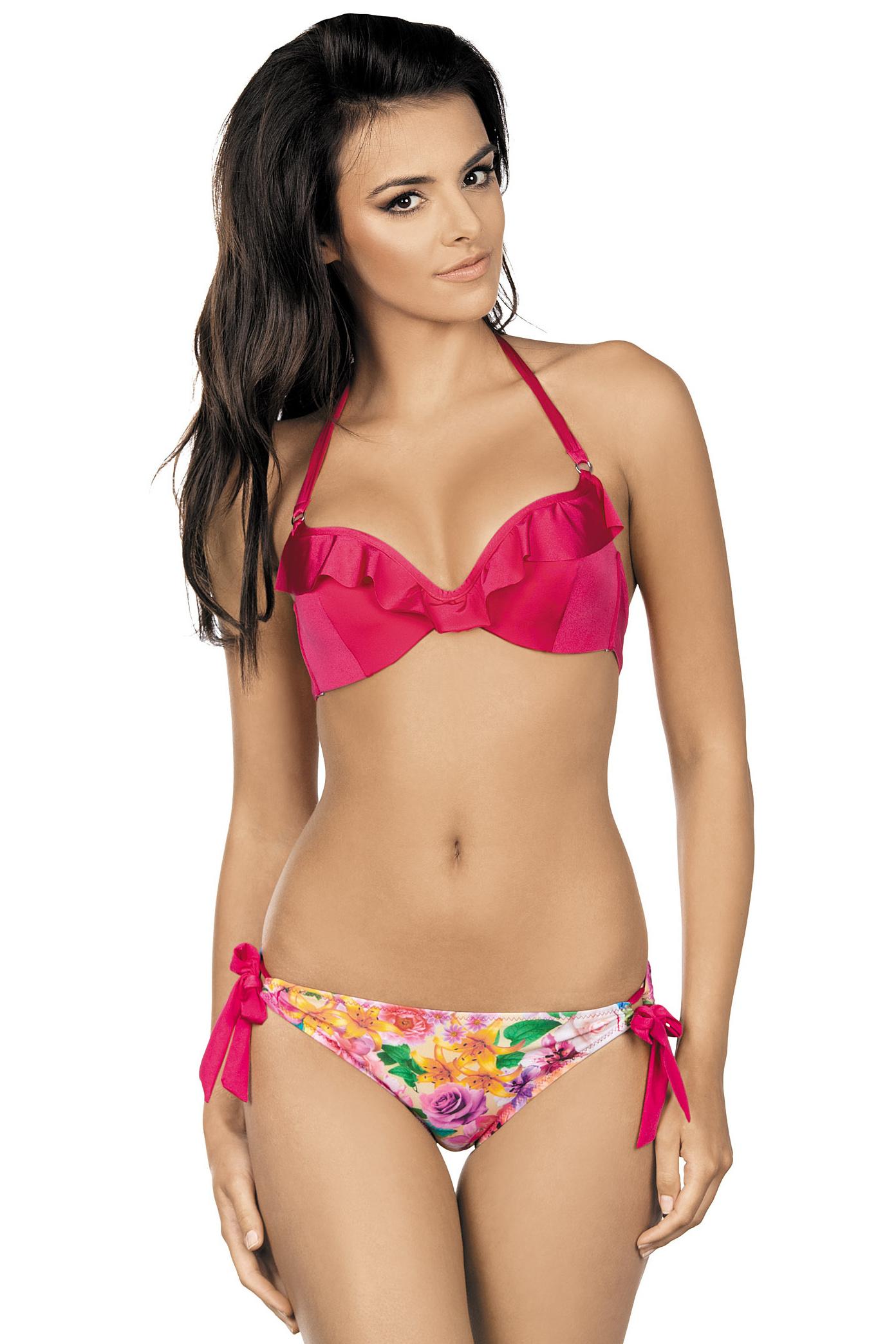 Dámské plavky Eila push up růžové