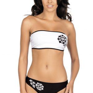 Dámské plavky Paola černo bílé
