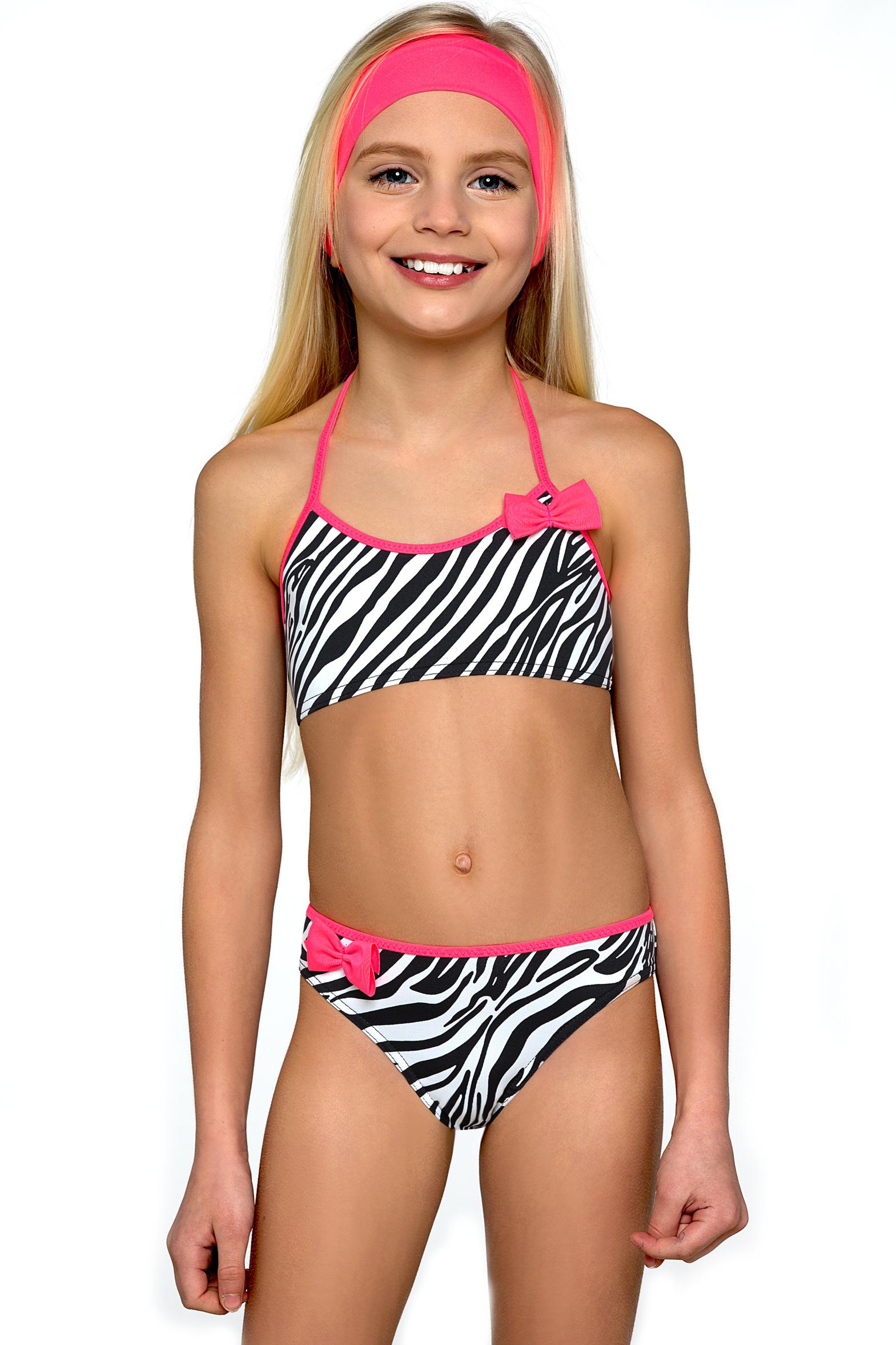 Dívčí bikiny Zebra