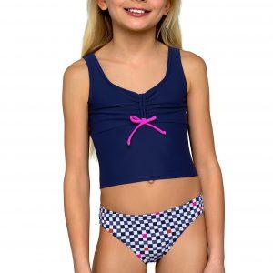 Dívčí dvoudílné plavky Zuzka