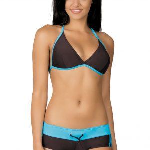 Dámské sportovní plavky Artis hnědé modré
