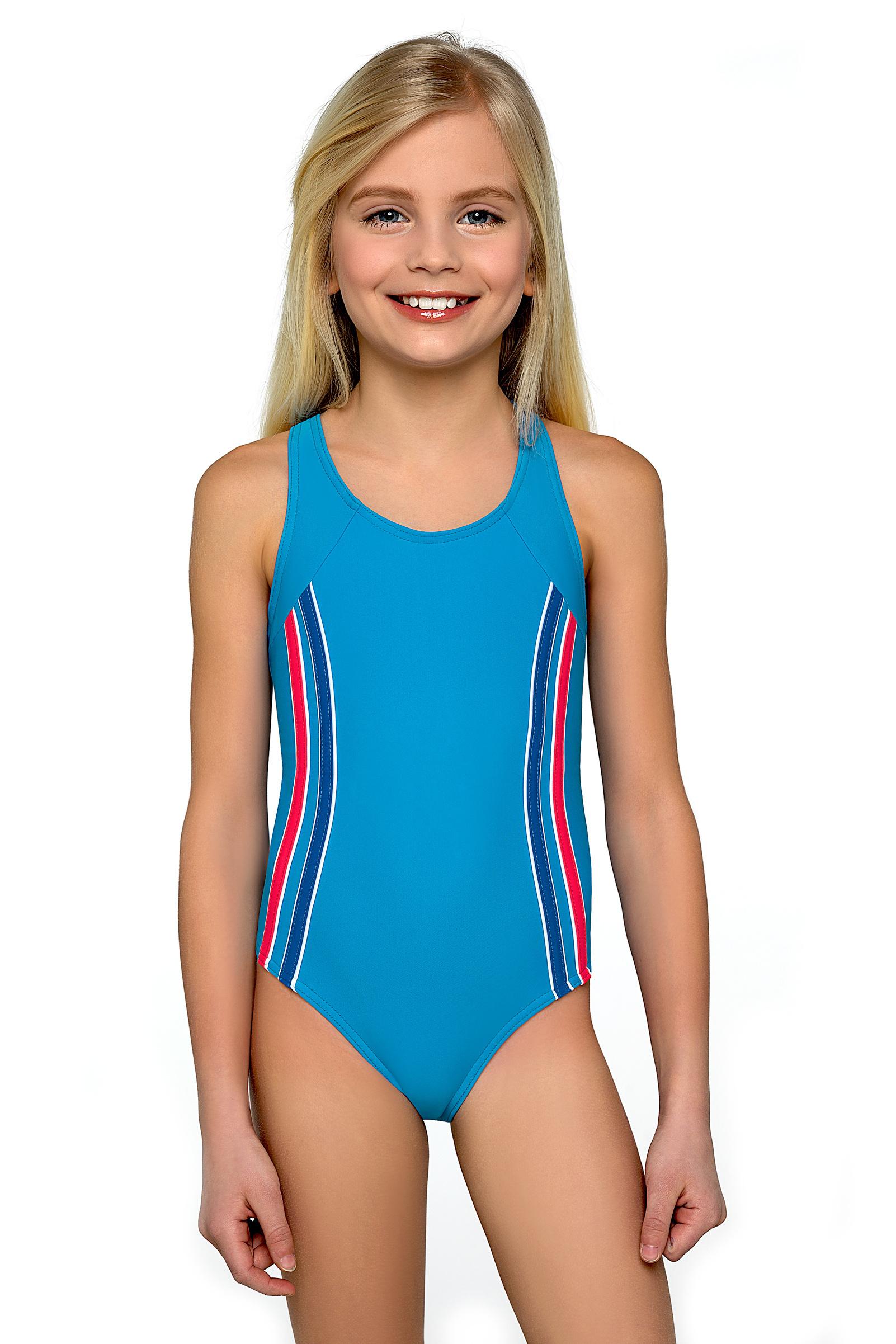 Dívčí plavky Klárka modré