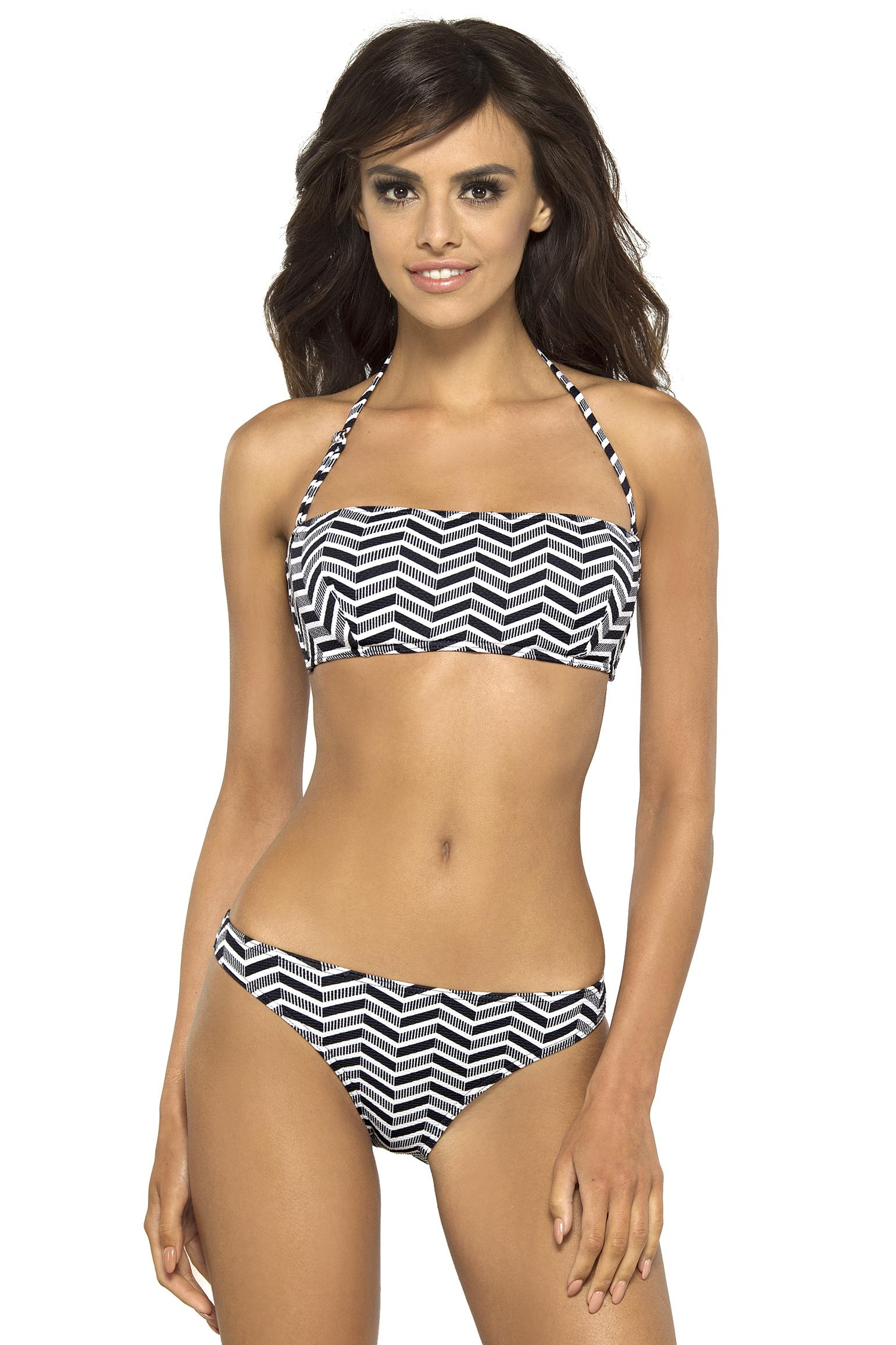 Dámské plavky Alison bandeau s kosticemi